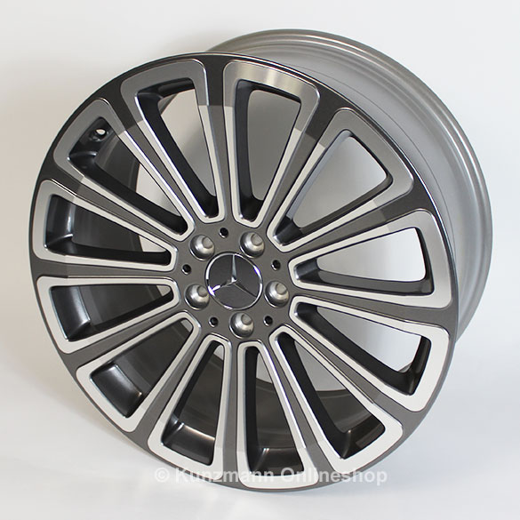 Mercedes benz 20 inch rims set glk x204 12 spoke wheel for Mercedes benz 20 inch wheels