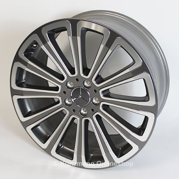 Mercedes benz 20 inch rims set glk x204 12 spoke wheel for 24 inch mercedes benz rims