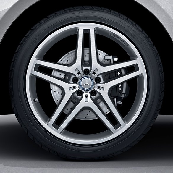 AMG 21-inch alloy wheel set | M-Class W166 | 5-twin-spoke ...