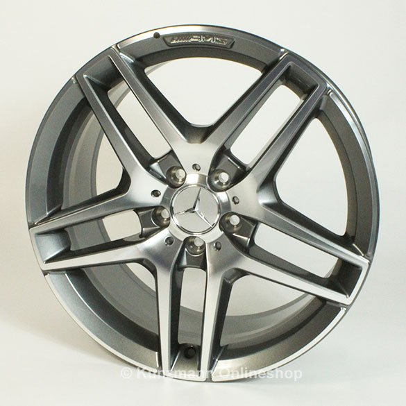 Amg alloy wheel set 19 inch s class coupe c217 genuine for Mercedes benz 19 inch amg wheels