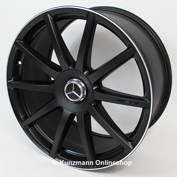 Amg forged rims 10 spoke design mercedes benz s class for 24 inch mercedes benz rims