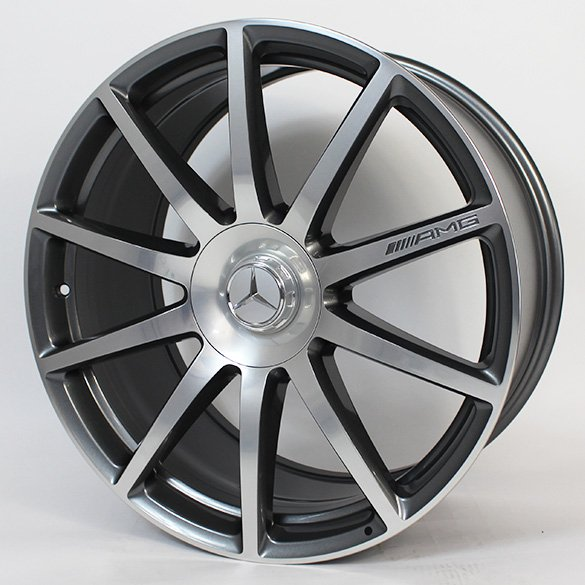 Mercedes Benz Original Rims: S 63 AMG 20-inch Forged Alloy Wheel Set