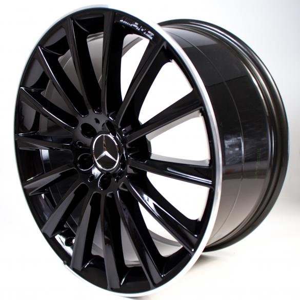 Amg 20 inch light alloy wheels night edition s class coupe for Mercedes benz 20 inch wheels