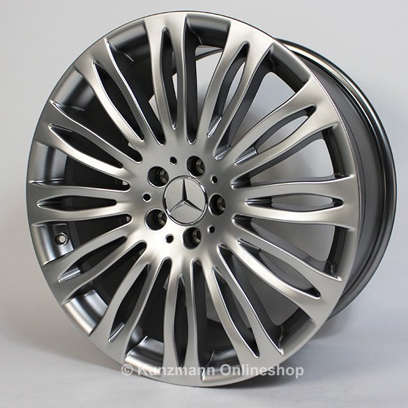 Mercedes benz multi spoke wheel s class w222 20 inch for Mercedes benz 20 inch wheels