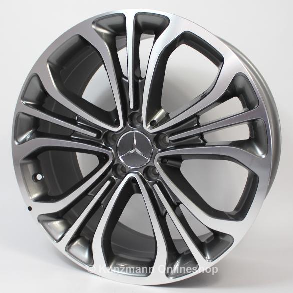 Mercedes benz triple spoke rim s class w222 19 inch for Mercedes benz 19 inch rims