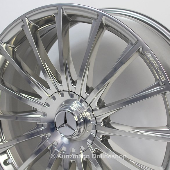 S 65 amg 20 inch forged alloy wheel set multispoke s class for Mercedes benz 20 inch rims
