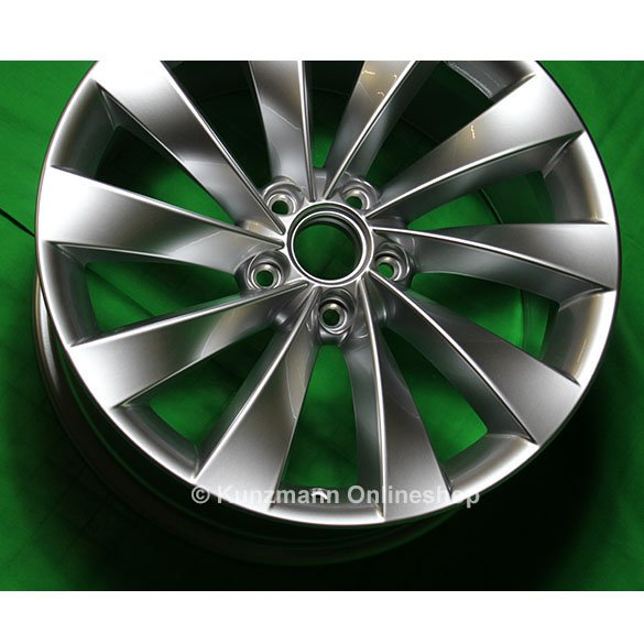 Volkswagen Interlagos Rims 8x18 Silver Original