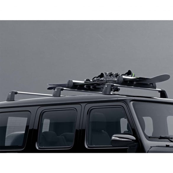Aluminium carrier bars G-Class W463 original Mercedes-Benz