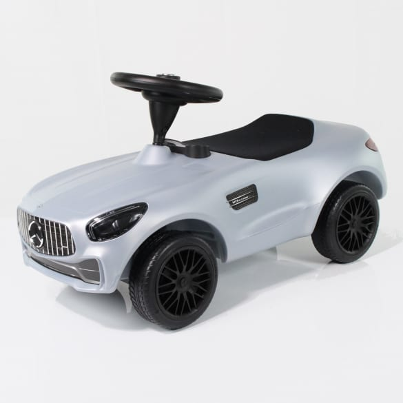 AMG GT Bobby-Benz Bobby Car von BIG silber Original Mercedes-Benz Collection