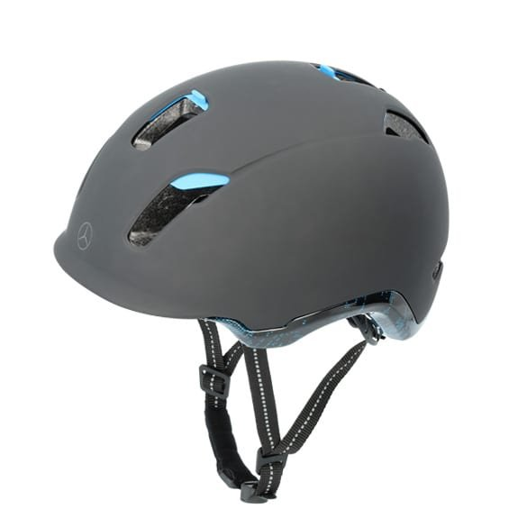 Bicycle helmet Original Mercedes-Benz black / blue from uvex
