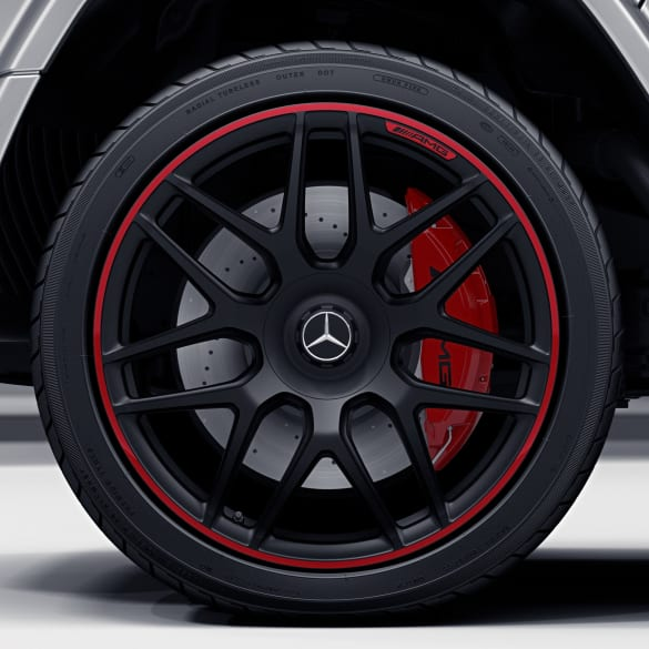 63 AMG 22 inch rim set G-Class W463 cross-spoke-wheel Edition 1 genuine Mercedes-Benz