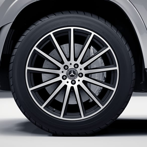 AMG 22 inch rim set GLS SUV X167 multi high-sheen black genuine Mercedes-Benz