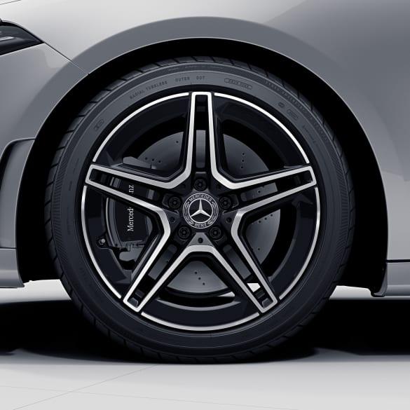 Amg 18 Inch 5 Double Spoke Cla 35 Amg Genuine Mercedes Benz Rim Set