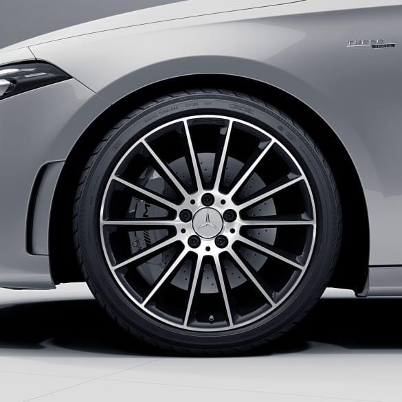 Amg 19 Inch Multi Spoke Cla 35 Amg Genuine Mercedes Benz Rim Set