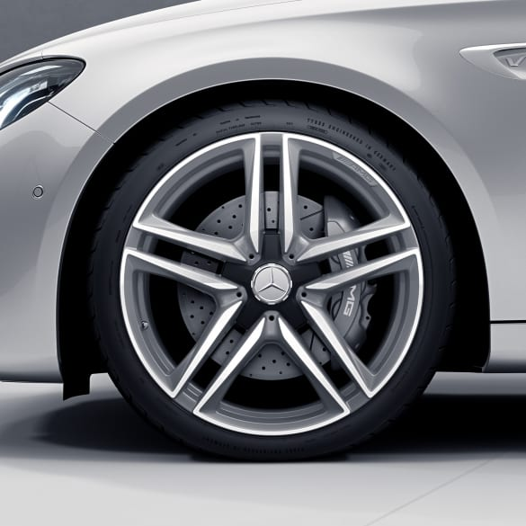 E 63 AMG 20 inch rim-set E-Class 213 5-doublespoke-design titan grey genuine Mercedes-Benz