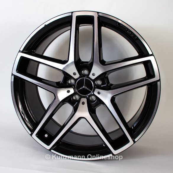 21 inch AMG rim set GLE Coupe 5-double-spoke-design GLE C292 genuine Mercedes-Benz