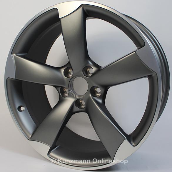 Audi A3 Rs3 8p Rotor Wheels 8x19 Et 50 Anthrazit
