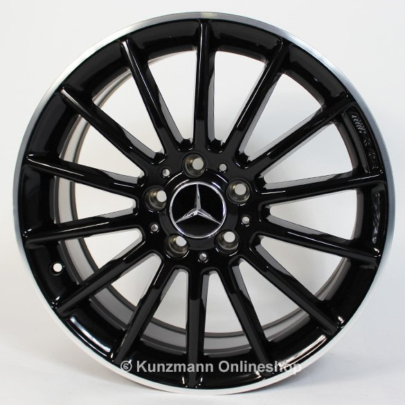 AMG 18-inch summer complete wheels | A-Class W176 | multi-spoke design | Original Mercedes-Benz