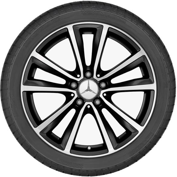 Mercedes Snow Wheels 17 Inch A-Class W176 B-Class W245 CLA