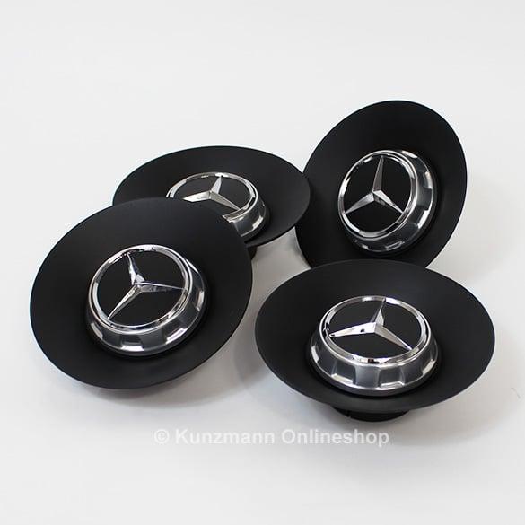 d956e1dd535 AMG hub caps cover forged wheel Mercedes-Benz AMG GT C190 black mat