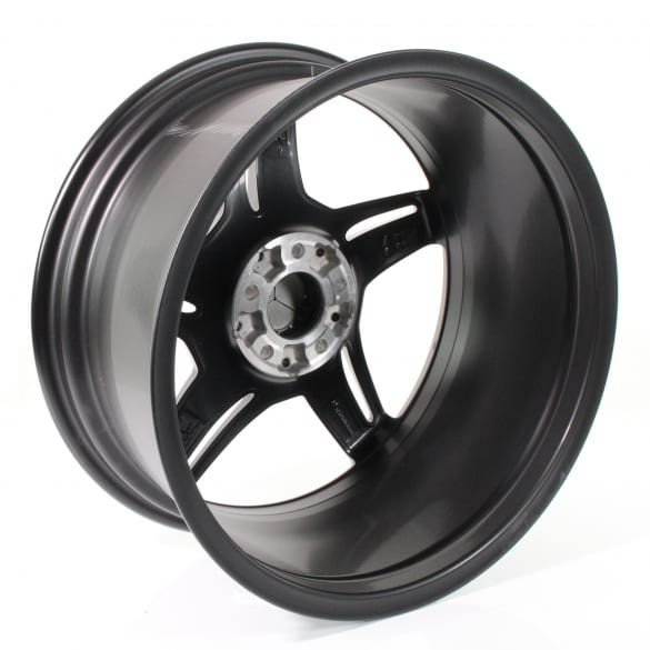 AMG 19 / 20 inch rim set AMG GT C190 5-double-spoke design black original Mercedes-Benz