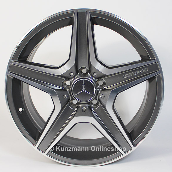 AMG light-alloy wheels Style VI / 6 from the C63 AMG Mercedes-Benz C-Class W204
