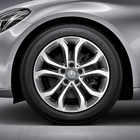 Mercedes Benz 17 Inch Rims Set Of C Class W205 5 Twin