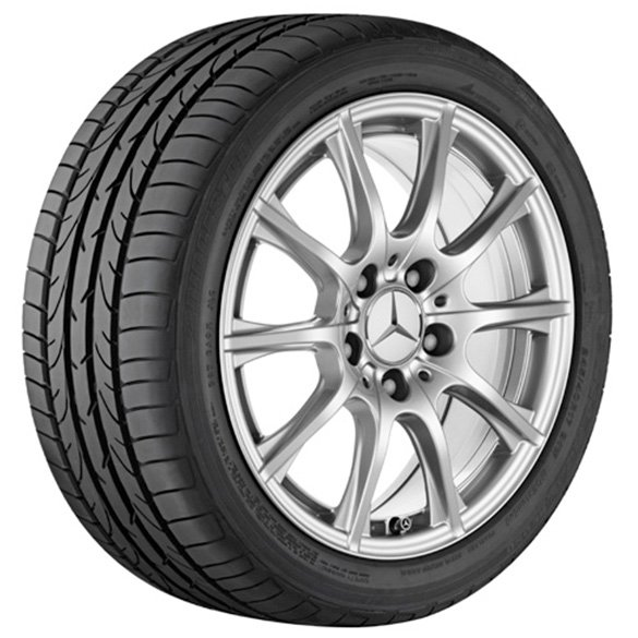 snow wheels 16 inch  C-Class W205 genuine Mercedes-Benz with TPS