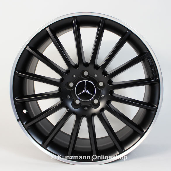 AMG 19-inch summer-complete wheels C-Class W204 multi-spoke genuine Mercedes-Benz