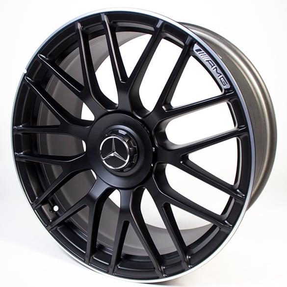 Mercedes Benz Original Rims: AMG 19 Inch Forged Wheel C-Class W205 Cross-spoke Design