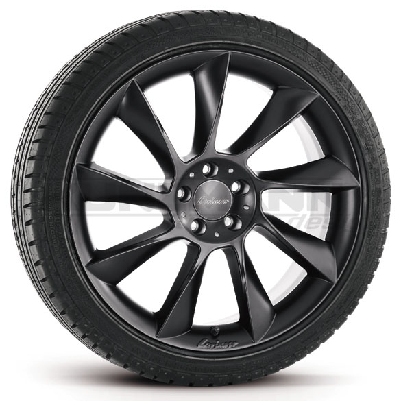 Original Lorinser RS8 light-alloy wheels complete wheels Mercedes-Benz CL W216 20 inch black