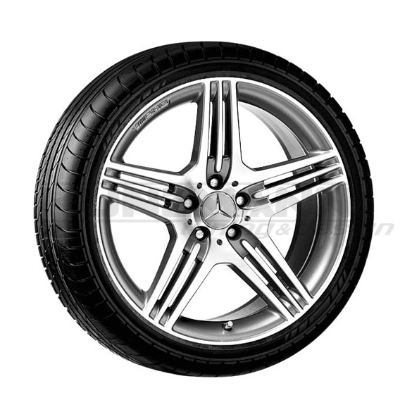 AMG 19-inch alloy wheels complete wheels Mercedes-Benz CLS W219 AMG Styling VII / 7