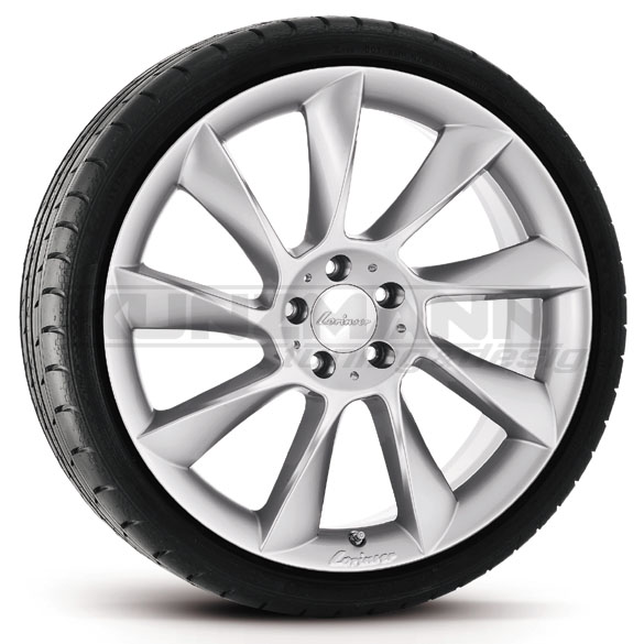 Lorinser RS8 light-alloy wheels complete wheels Mercedes-Benz CLS W219 original 19 inch