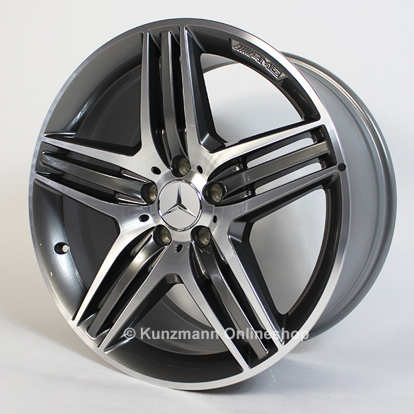 AMG alloy wheels triple-spoke design Mercedes-Benz E-Class W212 19 inch