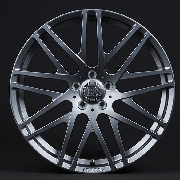 Brabus Monoblock F 4 alloy wheels in 19 inch Mercedes-Benz E-Class W212