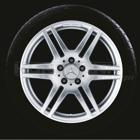 AMG Styling IV rims | 18 inch | E-Classe W212 | Genuine Mercedes-Benz | silver