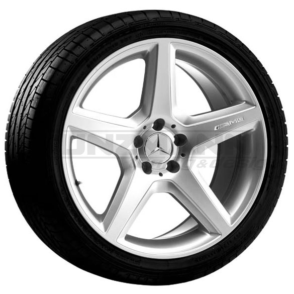 AMG 18-inch alloy wheels complete wheel E-class W211 AMG Styling 3 / III titanium gray