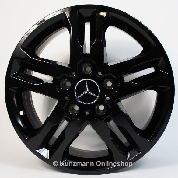 Mercedes-Benz 18 inch alloy wheel set G-Class W463 Sports black