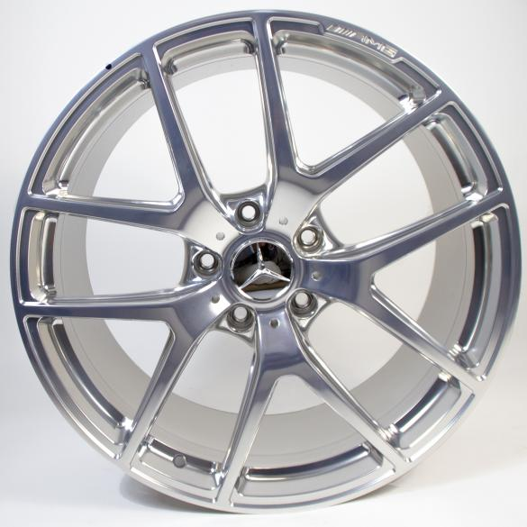 AMG 21 inch rim set Edition 463 ceramic polished G-Class W463 original Mercedes-Benz