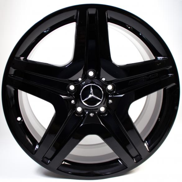 G 63 AMG 20-inch alloy wheel set black G-Class W463 original Mercedes-Benz