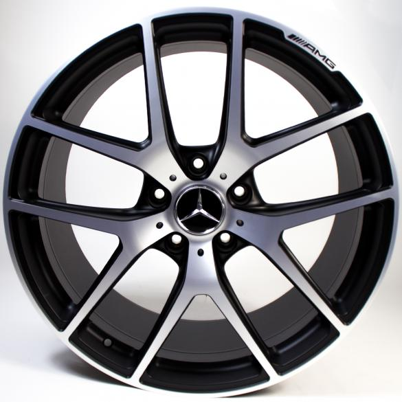 AMG 21 inch rim set Edition 463 silver G-Class W463 original Mercedes-Benz