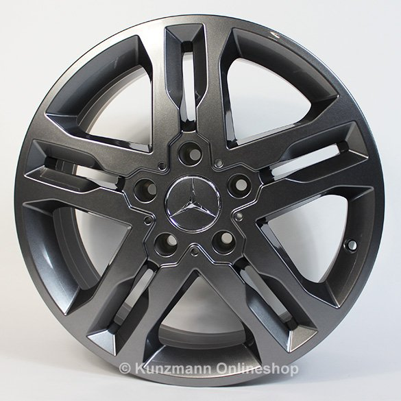 Mercedes-Benz 18 inch alloy wheel set G-Class W463 Sport grey