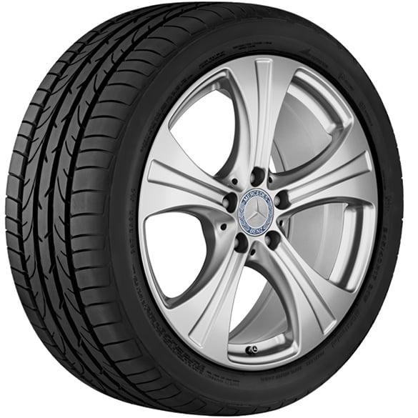 18 Inch Tires >> Snow Wheels 1 Set 18 Inch Glc Suv X253 Coupe C253 Genuine Mercedes Benz Tire Pressure Sensors
