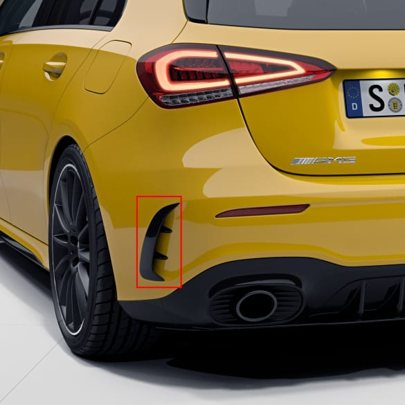 A 45 A 35 AMG Aero flaps rear bumper A-Class W177 genuine Mercedes-Benz
