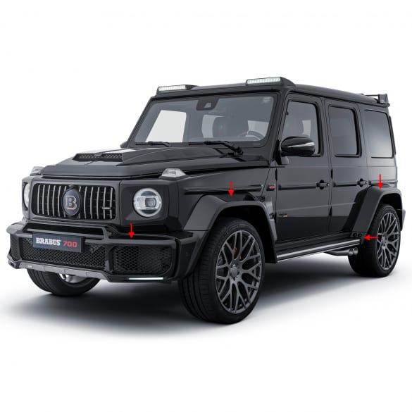 BRABUS WIDESTAR package G-Class W463A facelift conversion set