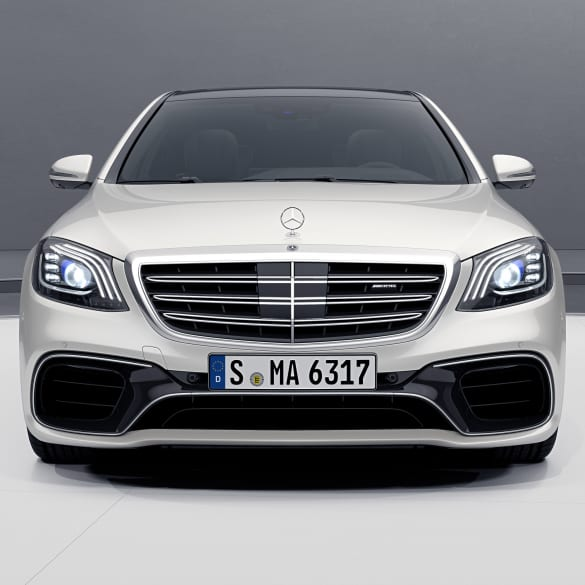 S 63 AMG facelift front bumper chrome S-Class W222 genuine Mercedes-Benz