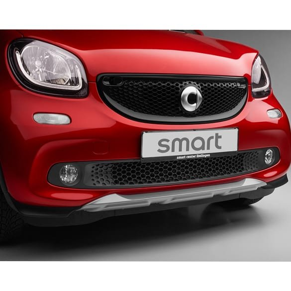 genuine simulated underguard front silver smart Brabus crosstown W453