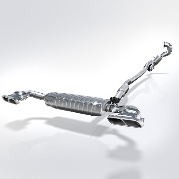 Sporty exhaust systems, exhaust covers of various brands