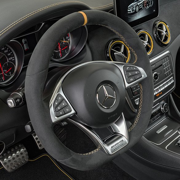 AMG Air Vents Yellow Night Edition A-Class W176 Original