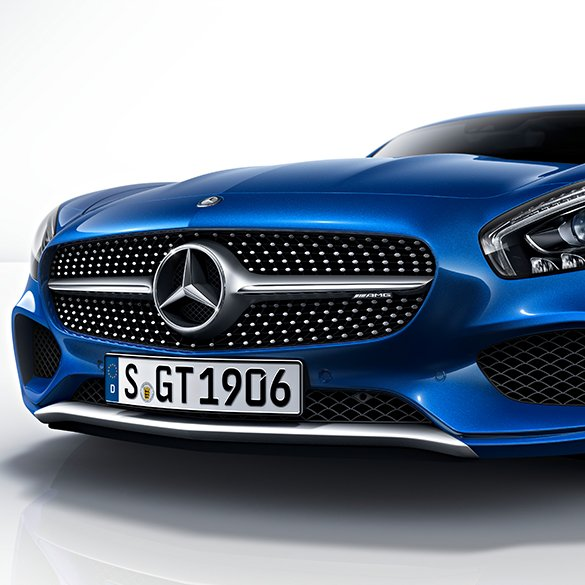 diamond grill AMG GT C190 original Mercedes-Benz